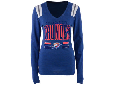 Oklahoma City Thunder NBA Women's Free Kick Long Sleeve T-Shirt