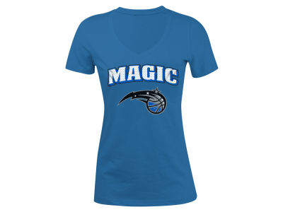 Orlando Magic 5th & Ocean NBA Women's Mesh Logo T-Shirt