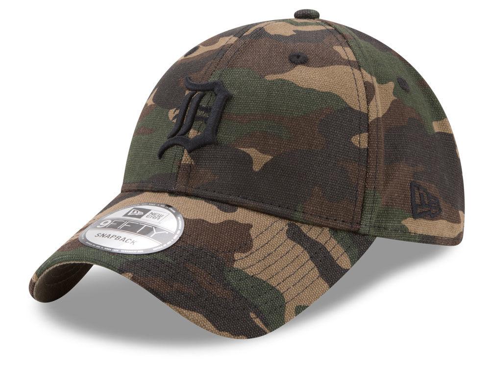 info for d789a 8793c ... new zealand detroit tigers new era mlb camo on canvas 9twenty strapback  cap lids c3fe3 e38ef
