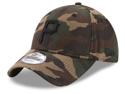 Pittsburgh Pirates New Era MLB Camo on Canvas 9TWENTY Strapback Cap