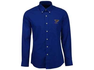 St. Louis Blues Antigua NHL Men's Dynasty Button Down Dress Shirt
