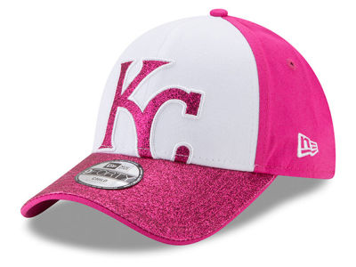 Kansas City Royals New Era MLB Kids Shine On 9FORTY Cap
