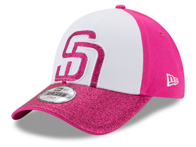 San Diego Padres New Era MLB Kids Shine On 9FORTY Cap