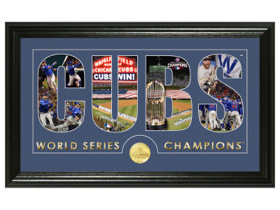 Chicago Cubs Word Art Photo Mint