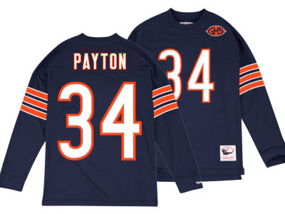Chicago Bears Walter Payton Mitchell & Ness NFL Men's Retro Player Long Sleeve T-shirt