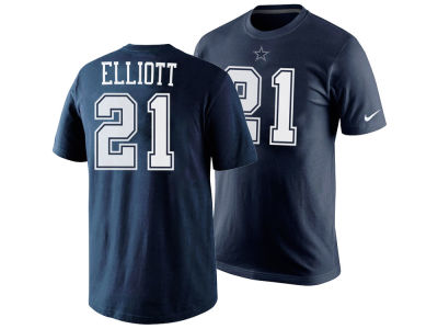Dallas Cowboys Ezekiel Elliott Nike NFL Youth Pride Name and Number T-Shirt