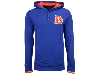 Denver Broncos Mitchell & Ness NFL Men's Seal The Win Long Sleeve Hoodie