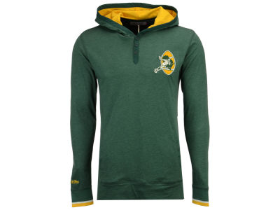 Green Bay Packers Mitchell & Ness NFL Men's Seal The Win Long Sleeve Hoodie