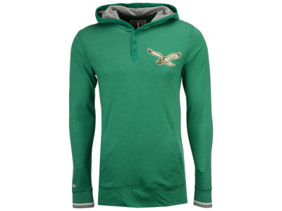 Philadelphia Eagles Mitchell & Ness NFL Men's Seal The Win Long Sleeve Hoodie