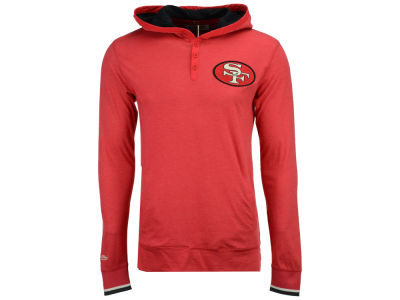 San Francisco 49ers Mitchell & Ness NFL Men's Seal The Win Long Sleeve Hoodie