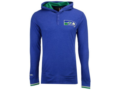 Seattle Seahawks Mitchell & Ness NFL Men's Seal The Win Long Sleeve Hoodie