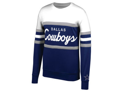 Dallas Cowboys Mitchell & Ness NFL Men's Head Coach Crew Sweatshirt
