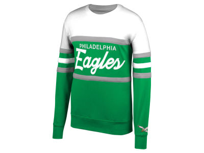 Philadelphia Eagles Mitchell & Ness NFL Men's Head Coach Crew Sweatshirt