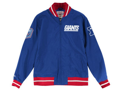 New York Giants Mitchell & Ness Men's Team History Warm Up Jacket