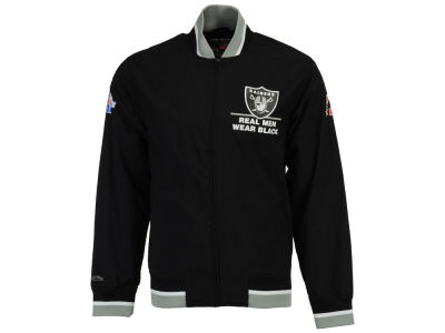Oakland Raiders Mitchell & Ness Men's Team History Warm Up Jacket