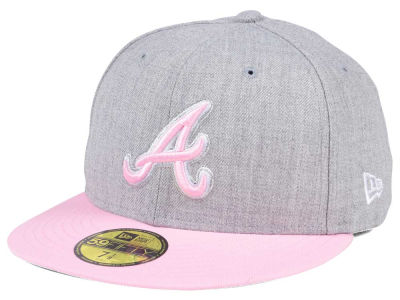 Atlanta Braves New Era MLB Perfect Pastel 59FIFTY Cap
