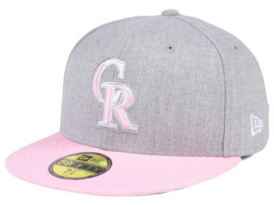 Colorado Rockies New Era MLB Perfect Pastel 59FIFTY Cap