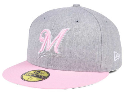 Milwaukee Brewers New Era MLB Perfect Pastel 59FIFTY Cap