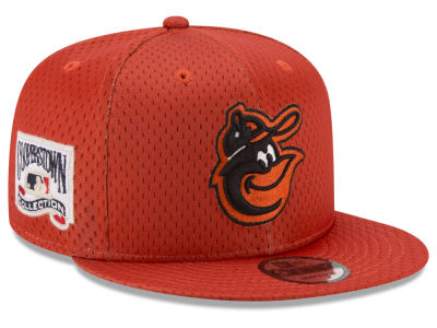 Baltimore Orioles New Era MLB Coop Mesh Authentic 9FIFTY Snapback Cap