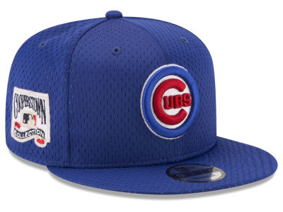 Chicago Cubs New Era MLB Coop Mesh Authentic 9FIFTY Snapback Cap