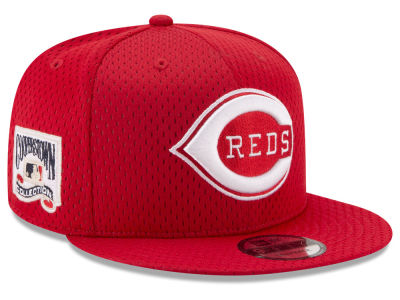 Cincinnati Reds New Era MLB Coop Mesh Authentic 9FIFTY Snapback Cap