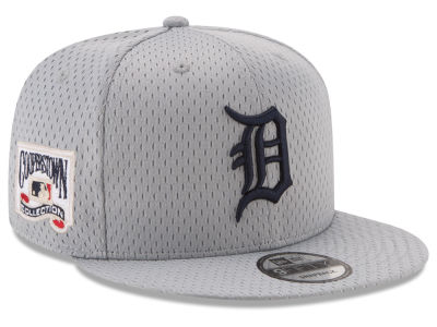 Detroit Tigers New Era MLB Coop Mesh Authentic 9FIFTY Snapback Cap
