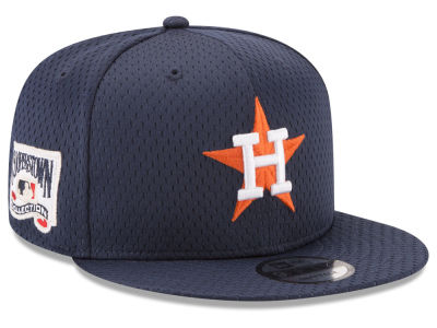 Houston Astros New Era MLB Coop Mesh Authentic 9FIFTY Snapback Cap