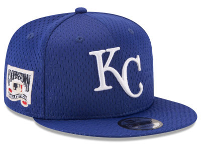 Kansas City Royals New Era MLB Coop Mesh Authentic 9FIFTY Snapback Cap