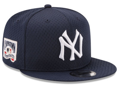 New York Yankees New Era MLB Coop Mesh Authentic 9FIFTY Snapback Cap