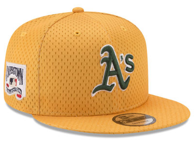 Oakland Athletics New Era MLB Coop Mesh Authentic 9FIFTY Snapback Cap
