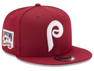 Philadelphia Phillies New Era MLB Coop Mesh Authentic 9FIFTY Snapback Cap