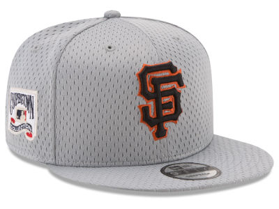 San Francisco Giants New Era MLB Coop Mesh Authentic 9FIFTY Snapback Cap