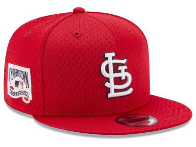 St. Louis Cardinals New Era MLB Coop Mesh Authentic 9FIFTY Snapback Cap