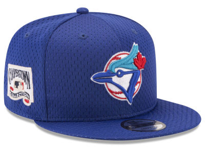 Toronto Blue Jays New Era MLB Coop Mesh Authentic 9FIFTY Snapback Cap
