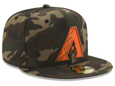 Arizona Diamondbacks New Era MLB Camo On Canvas 59FIFTY Cap