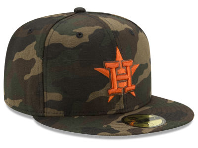 Houston Astros New Era MLB Camo On Canvas 59FIFTY Cap