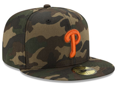 Philadelphia Phillies New Era MLB Camo On Canvas 59FIFTY Cap