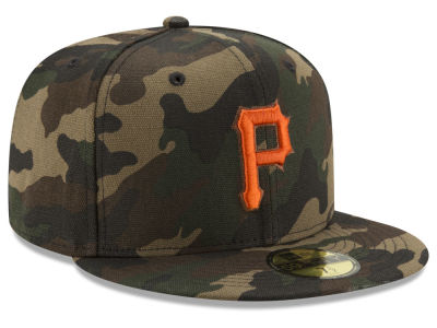 Pittsburgh Pirates New Era MLB Camo On Canvas 59FIFTY Cap