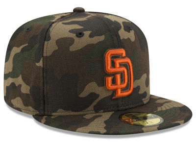 San Diego Padres New Era MLB Camo On Canvas 59FIFTY Cap