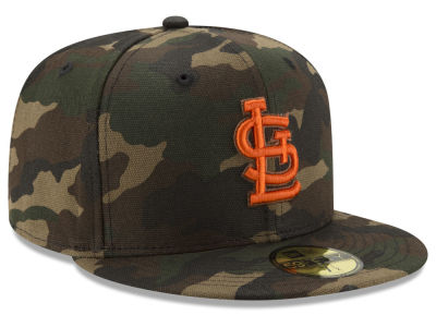 St. Louis Cardinals New Era MLB Camo On Canvas 59FIFTY Cap