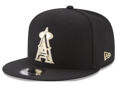 Los Angeles Angels New Era MLB Gold and Ice 9FIFTY Snapback Cap