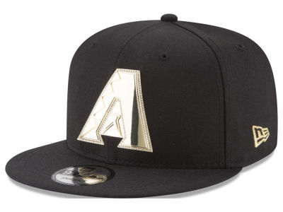Arizona Diamondbacks New Era MLB Gold and Ice 9FIFTY Snapback Cap