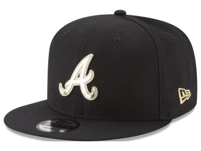 Atlanta Braves New Era MLB Gold and Ice 9FIFTY Snapback Cap