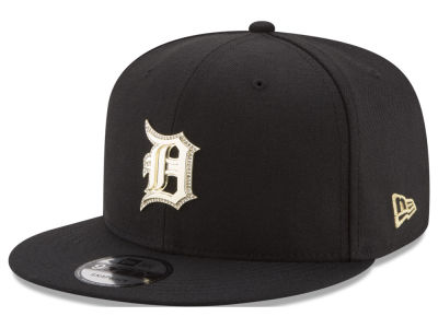 Detroit Tigers New Era MLB Gold and Ice 9FIFTY Snapback Cap