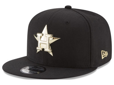 Houston Astros New Era MLB Gold and Ice 9FIFTY Snapback Cap