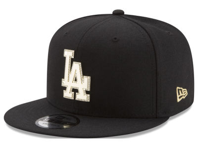 Los Angeles Dodgers New Era MLB Gold and Ice 9FIFTY Snapback Cap