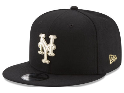 New York Mets New Era MLB Gold and Ice 9FIFTY Snapback Cap