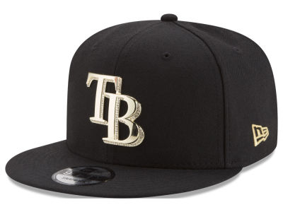 Tampa Bay Rays New Era MLB Gold and Ice 9FIFTY Snapback Cap
