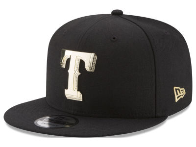 Texas Rangers New Era MLB Gold and Ice 9FIFTY Snapback Cap