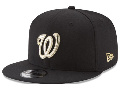 Washington Nationals New Era MLB Gold and Ice 9FIFTY Snapback Cap